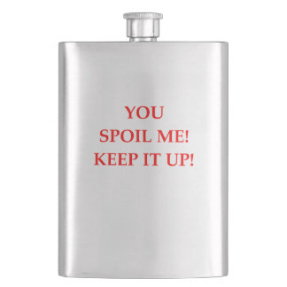 SPOIL HIP FLASK