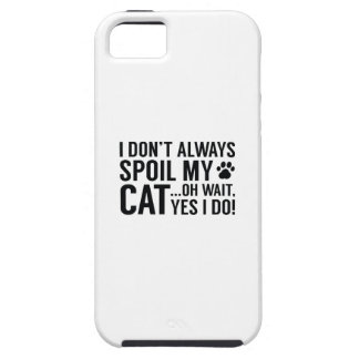 Spoil My Cat iPhone 5 Covers