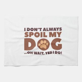 Spoil My Dog Kitchen Towel