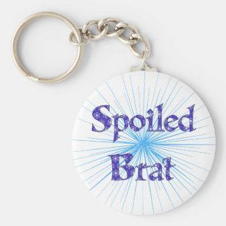Spoiled Brat Keychain