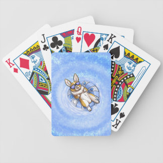Spoiled Corgi Bicycle Playing Cards