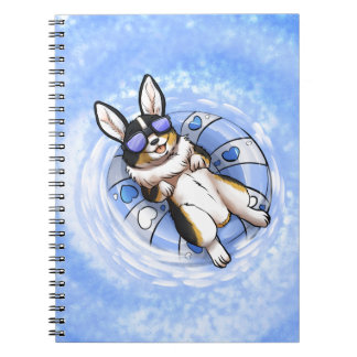Spoiled Corgi Notebook