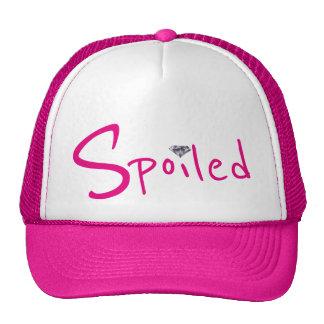 Spoiled Little Diamond Pink Trucker's Hat Cute