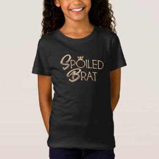 Spoiled Little Rotten Brat Funny T Pun -Shirt T-Shirt