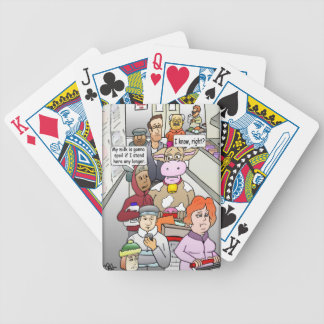Spoiled Milk Products Bicycle Playing Cards