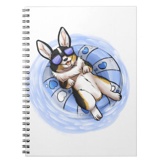 Spoiled Tri Corgi Notebook