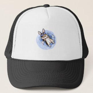 Spoiled Tri Corgi Trucker Hat