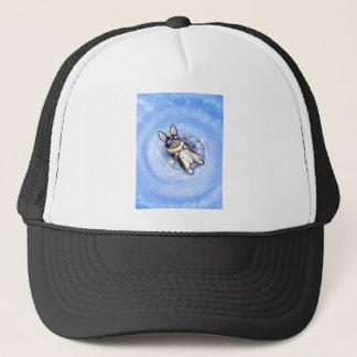 Spoiled Tri Corgi Variant Trucker Hat