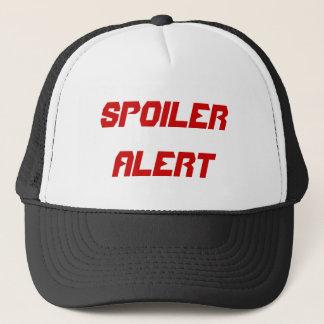 SPOILER ALERT TRUCKER HAT