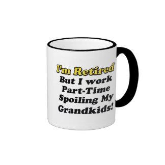 Spoiling My Grandkids Ringer Mug