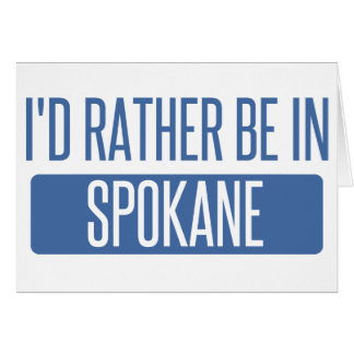 Spokane Card
