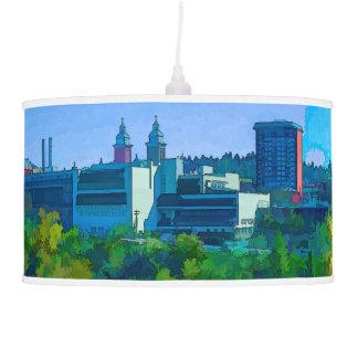 Spokane City Lampshade Pendant Lamp