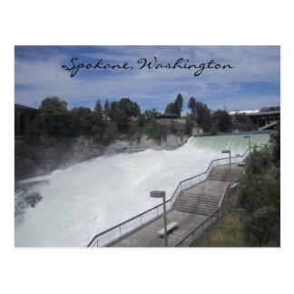 Spokane Falls Postcard
