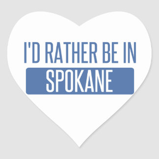 Spokane Heart Sticker