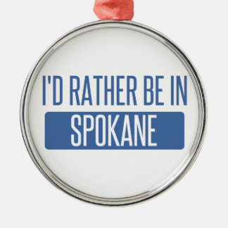 Spokane Metal Ornament