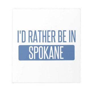 Spokane Notepad