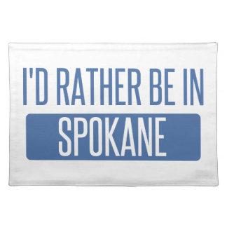 Spokane Placemat