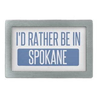 Spokane Rectangular Belt Buckle
