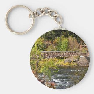 Spokane River Keychain