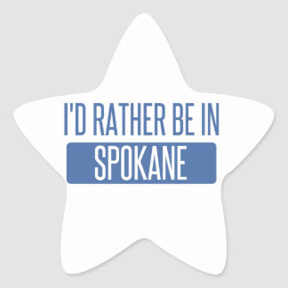 Spokane Star Sticker