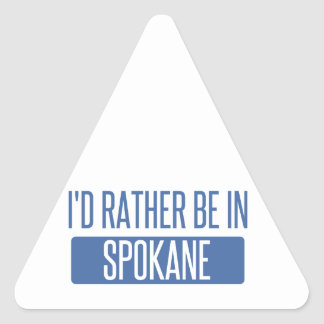 Spokane Triangle Sticker