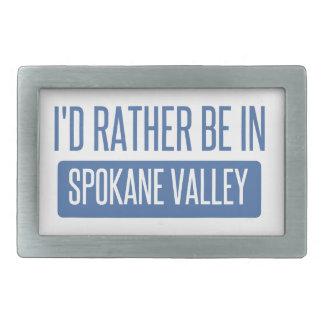 Spokane Valley Belt Buckle