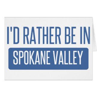 Spokane Valley Card