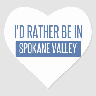 Spokane Valley Heart Sticker