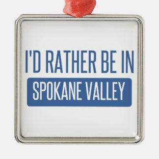 Spokane Valley Metal Ornament