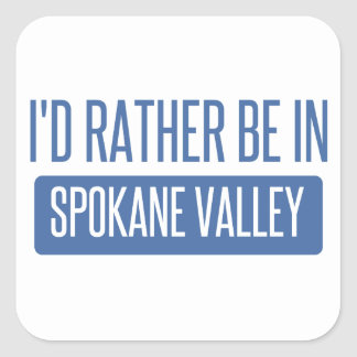 Spokane Valley Square Sticker