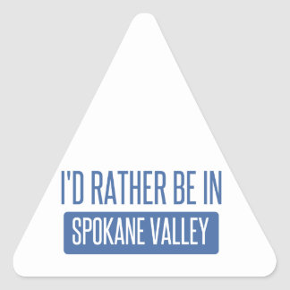 Spokane Valley Triangle Sticker