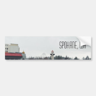 Spokane Wa Bumper Sticker