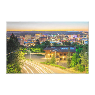 spokane wa canvas print