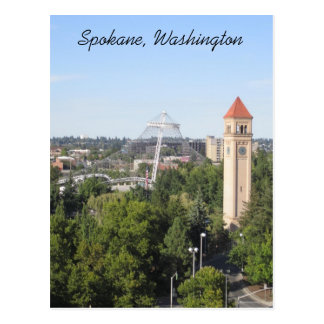 Spokane Washington Postcard