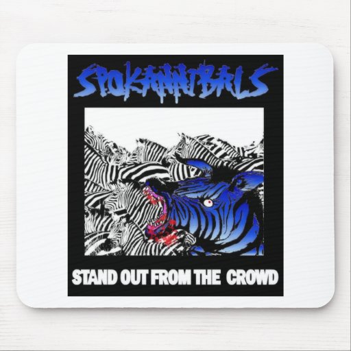 spokannibals stand out mouse pad