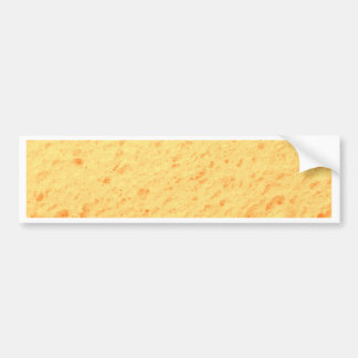 sponge,beige bumper stickers