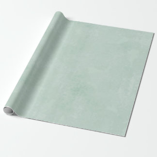 Sponged sage wrapping paper