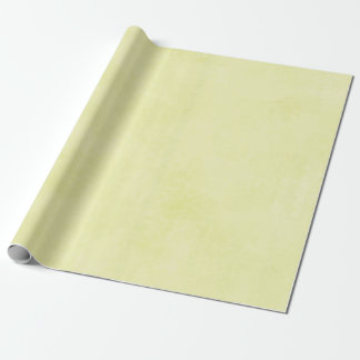Sponged yellow wrapping paper