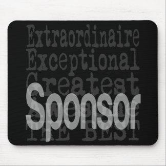 Sponsor Extraordinaire Mouse Pad