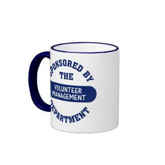 Sponsored by the Volunteer Management Department Coffee Mugs
