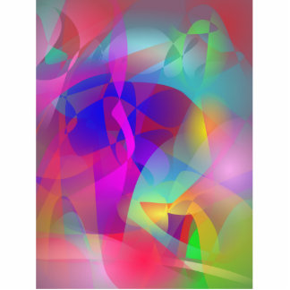 Spontaneous Abstract Art Cut Outs