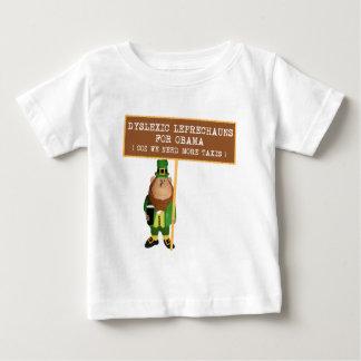 Spoof dyslexic anti Obama Baby T-Shirt