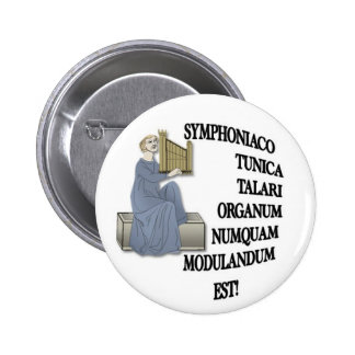 Spoof Latin motto 2 Inch Round Button
