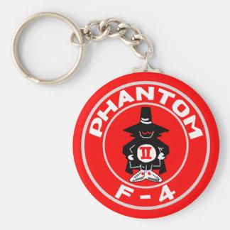 "SPOOK PATCH, F-4, ""Phantom"" Basic Round Button Keychain"