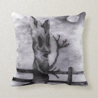 """""""Spook Tree"""" Throw Pillow"""