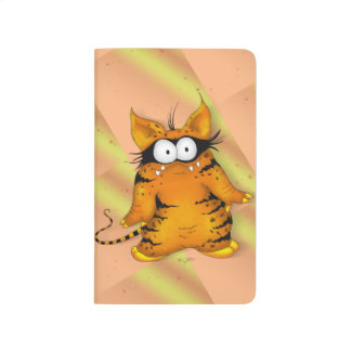 SPOOKEE PET HALLOWEEN CARTOON Pocket Journal