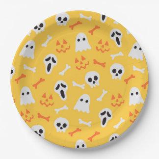 Spooks Paper Plate