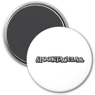 Spooktacular 3 Inch Round Magnet
