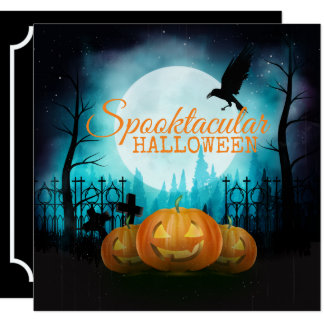 Spooktacular Halloween Costume Party | Invitation