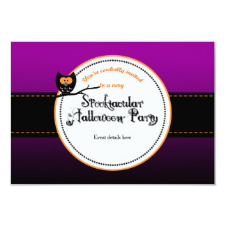 Spooktacular Halloween Party Invites